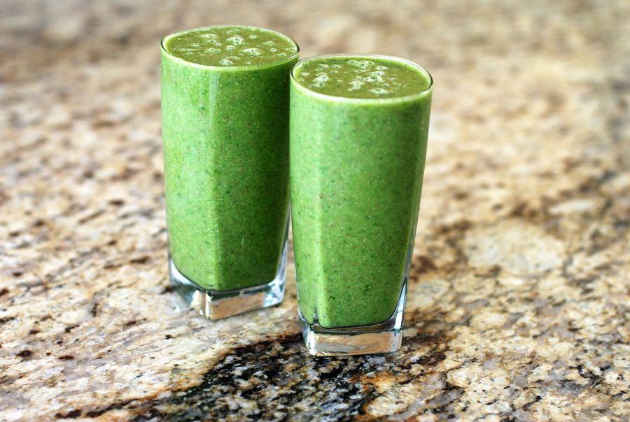 smoothie spinat kiwi