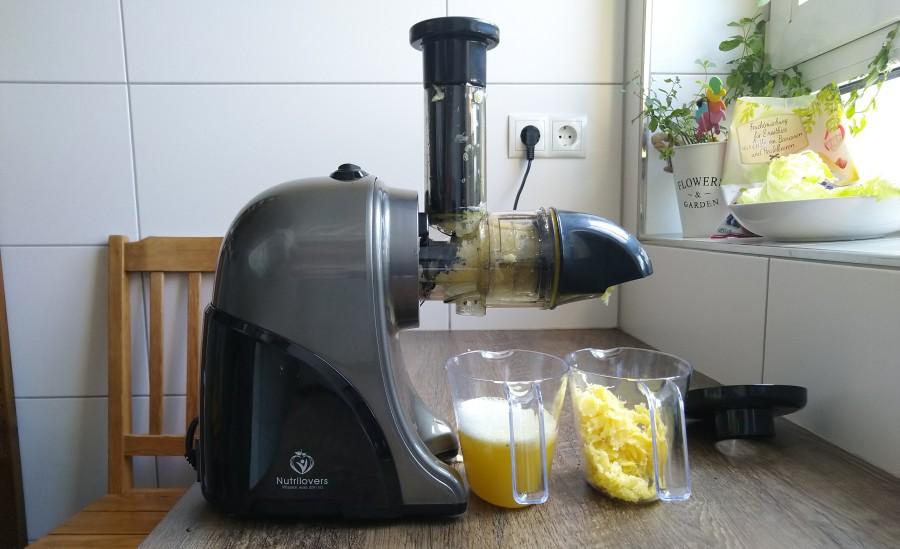ananas slow juicer test