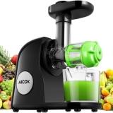 Aicok Entsafter: Das kann der Slow Juicer wirklich