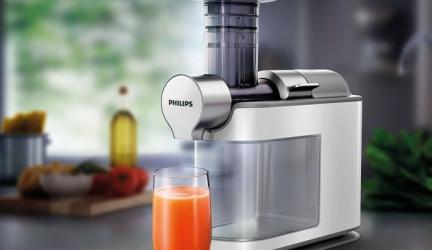 Philips HR1945/80: Slow-Juicer reinigt sich (tatsächlich) von selbst, aaaber…